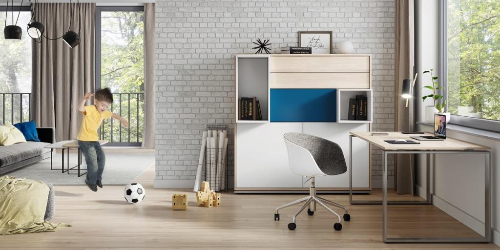 Zostań w domu – home office w czasie pandemii koronawirusa: jak zorganizować domowe biuro, by pracować efektywnie?
