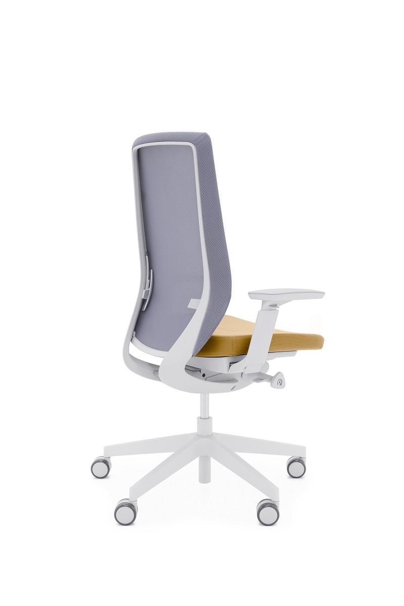 Krzeslo accispro jasny szary Profim