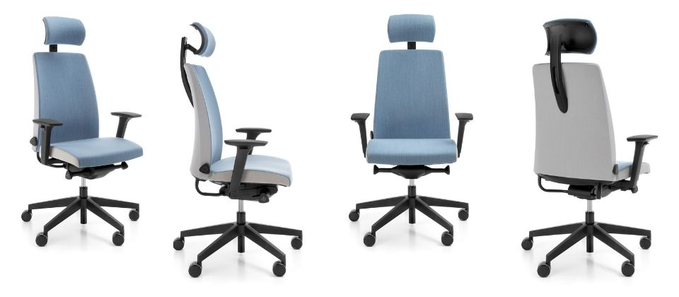 Krzesła obrotowe Motto Profim