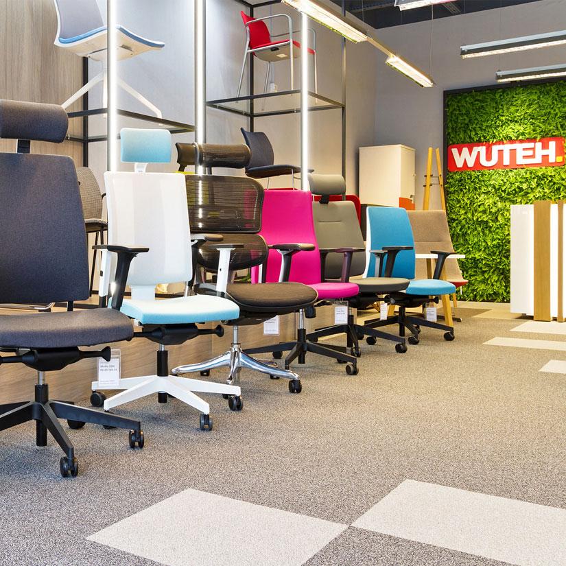 Krzesła biurowe i fotele - Wuteh Showroom Bydgoszcz